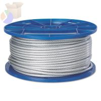 Aircraft Quality Wire Ropes, 7 Strands, 7 Strands/Wire, 3/16 in, 184 lb Load