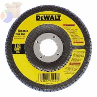 "4"" X 5/8"" 60 GRIT ZIRCONIA FLAP DISC WHEEL"