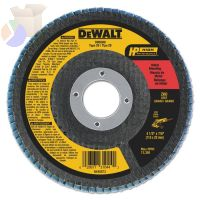 "4-1/2"" X 7/8"" 60 GRIT ZIRCONIA FLAP DISC WHEEL"