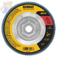 "4-1/2""X5/8""-11 36GRIT ZIRCONIA FLAP DISC WHEEL"