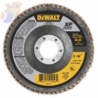 XP Ceramic Type 27 Flap Discs, 4 1/2 in, 40 Grit, 7/8 in Arbor