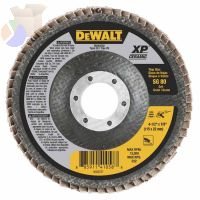 XP Ceramic Type 27 Flap Discs, 4 1/2 in, 80 Grit, 7/8 in Arbor