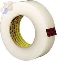 Scotch Stretchable Tapes 8886, 36 mm X 55 m, 7 mil, Clear