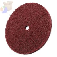 Scotch-Brite High Strength Discs, 6 X 1/4, 4,000 rpm, Aluminum Oxide, Very Fine