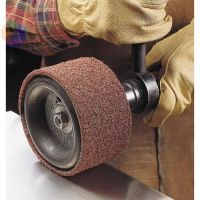 Scotch-Brite Surface Conditioning Belts, 6 in x 48 in, Coarse, Brown