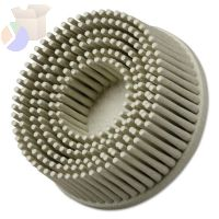 Scotch-Brite Roloc Bristle Discs, 2 in, 120, 25,000 rpm, White