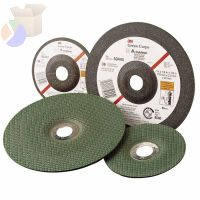"Green Corps Flexible Grinding Wheel, 4 1/2"" Dia, 7/8 Arbor,  1/8"" Thick, 36 Grit"