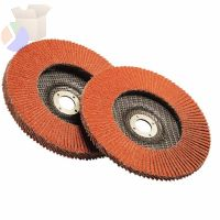 Flap Discs 947D, 4 1/2 in, 120 Grit, 7/8 in Arbor, 13,300 rpm
