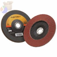 Cubitron II Flap Disc 967A, 7 in, 60 Grit, 7/8 in Arbor, 8,600 rpm, Type 27