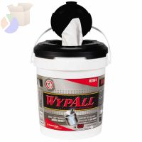 WypAll Wipers in a Bucket, White, 220 per bucket