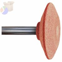 "Series A Shank Vitrified Mounted Point Abrasive Bits, A36, 1 5/8"", 60, O"