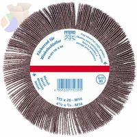 Angle Grinder Flap Wheels, 4 1/2 in x 3/4 in, 120 Grit, 13,300 rpm