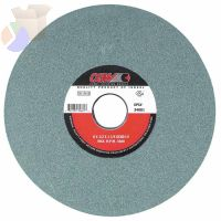 "Green Silicon Carbide Surface Grinding Wheels, T1, 8 X 1/4, 1 1/4"" Arbor, 80, I"