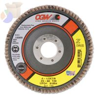 Cut-Off Wheel, Die Grinders, 4 in Dia, 1/16 in Thick, 5/8 in Arbor, 36 Grit