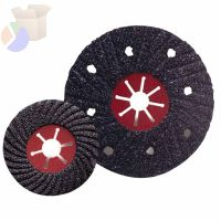 Semi-Flex Sanding Discs, Silicon Carbide, 4 1/2 in Dia., 16 Grit