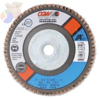 Flap Wheels, 3 in x 1 in, 60 Grit, 20,000 rpm