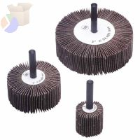 Flap Wheels, 1 1/2 in x 1 in, 80 Grit, 25,000 rpm