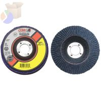 "Flap Discs, Z3 -100% Zirconia, Regular, 4 1/2"", 24 Grit, 5/8 Arbor,13300 rpm,T29"