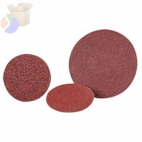 Quick Change 2-Ply Discs, Aluminum Oxide, 2 in Dia., 80 Grit
