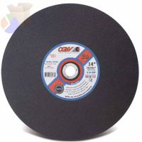 Stationary Saw Wheel, 20 in Dia, 3/16 in Thick, 24 Grit Alum. Oxide
