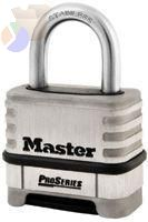 "ProSeries Resettable Combination Locks, 5/16""Dia, 1 1/16""L X 1""W, Carded"
