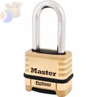 "ProSeries Resettable Combination Locks, 3/8""Dia, 15/16""L X 15/16""W, Boxed"