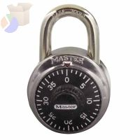 No. 1500 Combination Padlocks, 9/32 in Diam., 2 in L X 13/16 in W