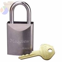 "Pro Series High Security Padlocks-Solid Steel, 1/4""Dia, 1 1/16"" X 25/32"" X 27mm"