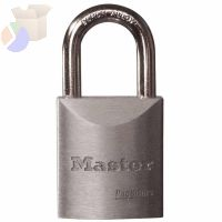 "Pro Series High Security Padlocks-Solid Steel, 5/16"" Dia, 1 3/16""LX29/32""W"