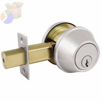 COMM SGL CYL DEADBOLT SATIN CHROME KA4 SCHLAGE C