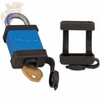 Extreme Environment Padlock Covers, For 6835/A110 in, Black