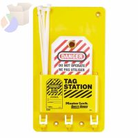 Safety Series Compact Tag Stations, English, 5 3/4 in