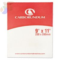 Carborundum Silicon Carbide Waterproof Sandscreen Sheets, 320 Grit