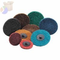 "Carbo Surface Prep Non-Woven Quick-Change Disc, Type II, 3"", Coarse"