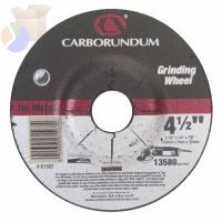 Depressed Center Wheel, 4 1/2 in Dia, 1/4 in Thick, Hardness Grade Q
