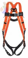 Full-body harness w/slid;ing back D-ring