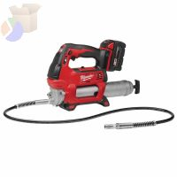M18™ Cordless 2-Speed Grease Guns, 16 oz, 10,000 psi, 48 in Hose/Coupler