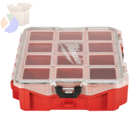 PACKOUT Organizers, 15 in x 4.61 in x 4.61 in, Polymer, Black/Red