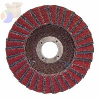 Flap Discs R961, 6 in, 60 Grit, 7/8 in Arbor, 10,200 rpm