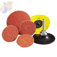 Blaze Speed-Lok TR Coated-Cloth Discs, Ceramic, 3 in Dia., 50 Grit