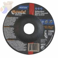 "Gemini RightCut Depressed Center Cut-Off Wheel, 4 1/2"" Dia, .045"" Thick, 7/8 in"