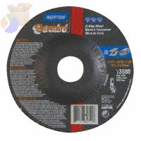 "Gemini RightCut Depressed Center Cut-Off Wheel, 4 1/2"" Dia, 3/32"" Thick, 7/8 in"