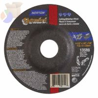 Gemini Cut-Off Wheel, Type 27, 1/8 in Thick, 4 1/2 in Arbor