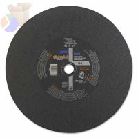 Chop Saw Reinforced Cut-off Wheel, 12 in Dia, 7/64 in Thick Aluminum Oxide