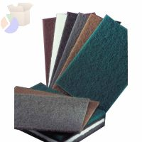 Bear-Tex Hand Pads, General Purpose Plus, Aluminum Oxide, Maroon