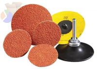 Blaze Speed-Lok TS Coated-Cloth Discs, Ceramic, 3 in Dia., 80 Grit, Type 2