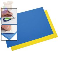 Do-It-Yourself Foam Drawer Kits, 39 in x 1.75 in, 3/4 in Thick, Blue/Yellow