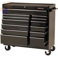 13 Drawer Roller Cabinets, 41 in x 18 in x 41 1/2 in, 13 Drawers, Black
