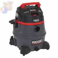 2-Stage Wet/Dry Vacuums, 14 gal, 6.5 hp, W/Hose/(7)Attachmts/Diffuser/(3)Filter