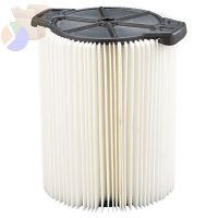 Wet/Dry Vacuum Dust Filter, For Ridgid Wet/Dry Vacs 5 Gallons and LargerWD1450